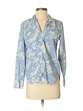 Gap Body Long Sleeve Button-Down Shirt Size XS