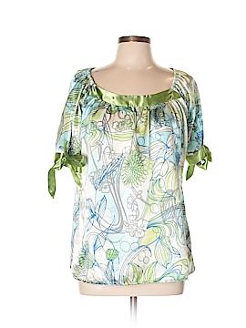 Allison Morgan Short Sleeve Blouse Size XL