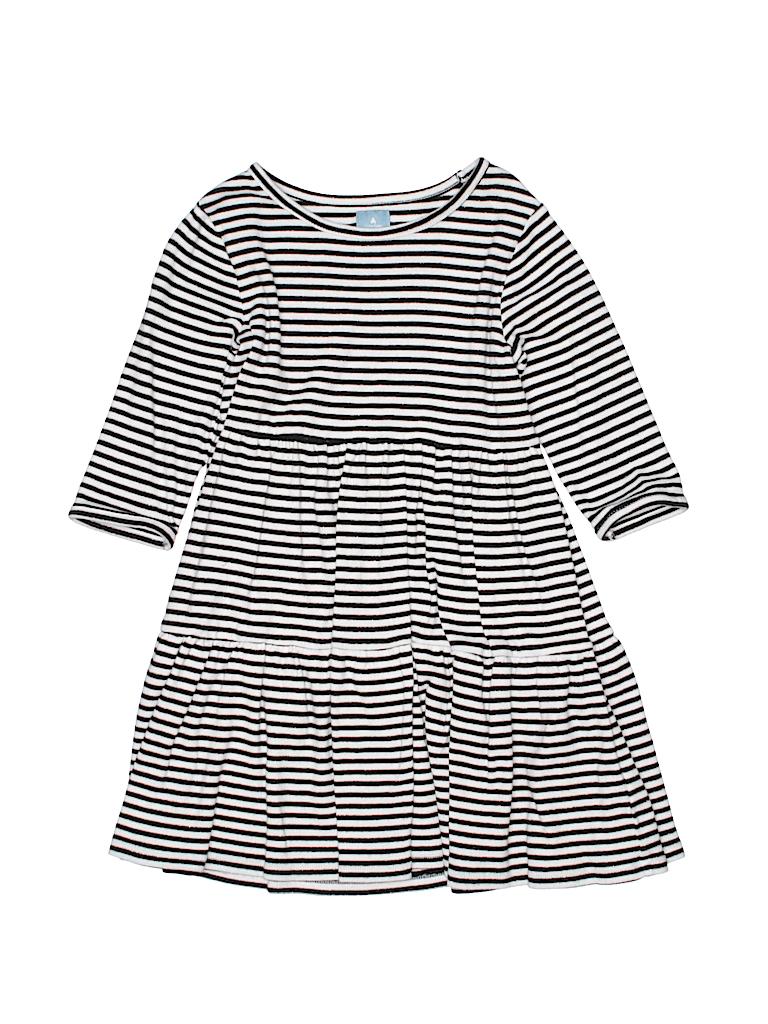 dc717397c887 Baby Gap 100% Cotton Stripes Black Dress Size 5 - 70% off