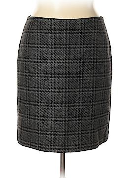 Eddie Bauer Wool Skirt Size 14