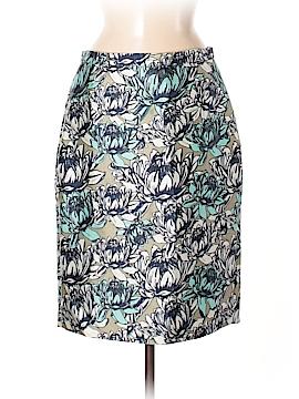 J. Crew Collection Silk Skirt Size 8