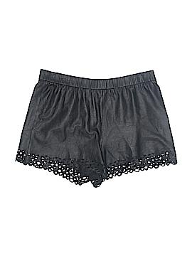 Diane von Furstenberg Leather Shorts Size L