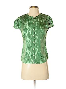 Banana Republic Factory Store Short Sleeve Button-Down Shirt Size S (Petite)
