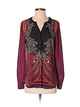 Dana Buchman Long Sleeve Blouse Size 2