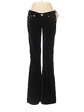 True Religion Velour Pants 27 Waist