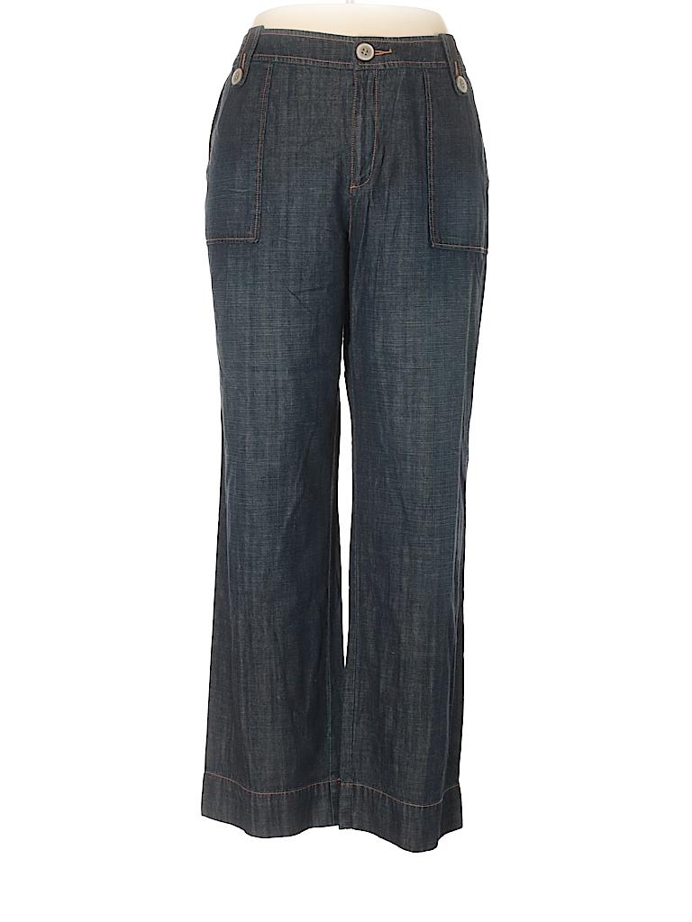 Sigrid Olsen Women Casual Pants Size 14 W (Plus)