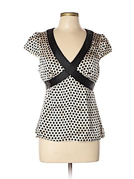Nanette Lepore Short Sleeve Blouse Size 10