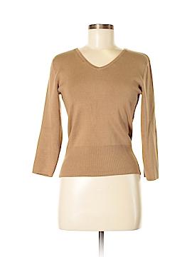 U-Knit Silk Pullover Sweater Size M