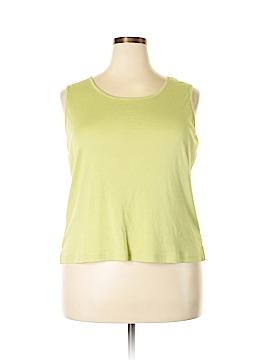 Susan Bristol Sleeveless Top Size 1X (Plus)