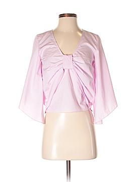 Zara Basic Long Sleeve Top Size XS