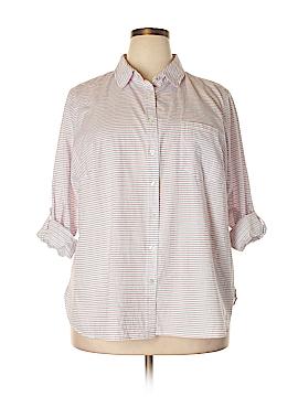 Talbots Long Sleeve Button-Down Shirt Size 20w
