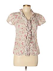 Ann Taylor LOFT Outlet Women Short Sleeve Blouse Size 0