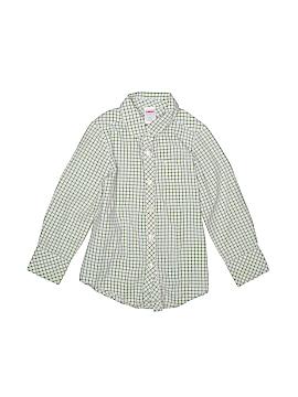 Gymboree Long Sleeve Button-Down Shirt Size 4