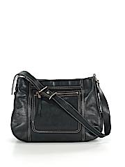Ellen Tracy Leather Shoulder Bag