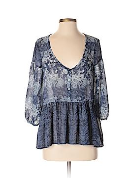 Ecote 3/4 Sleeve Blouse Size S