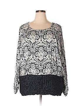 C.O.C. Long Sleeve Blouse Size 3X (Plus)