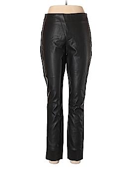 Armani Exchange Faux Leather Pants Size 12
