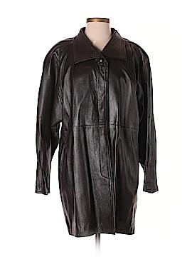 Vera Pelle Leather Jacket Size S