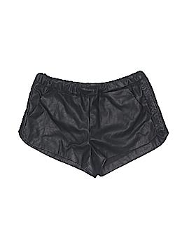Trafaluc by Zara Faux Leather Shorts Size S