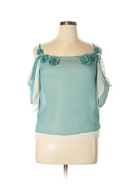 Bizz Sleeveless Blouse Size S