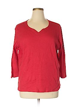 Jason Maxwell 3/4 Sleeve T-Shirt Size 1X (Plus)
