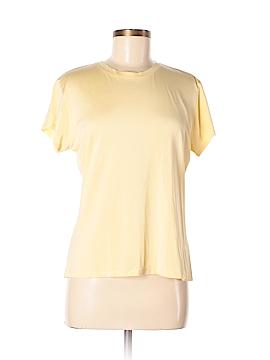 Winter Silks Short Sleeve Silk Top Size M