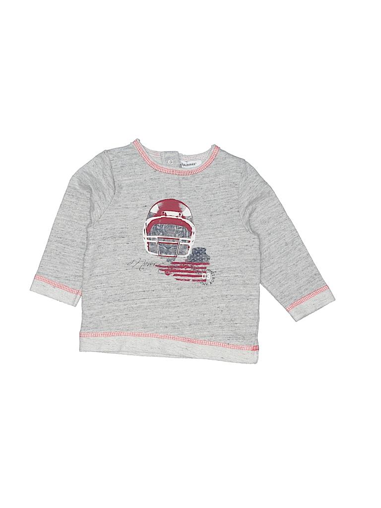 3 Pommes Girls Sweatshirt Size 6-9 mo