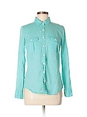 J. Crew Factory Store Women Long Sleeve Button-Down Shirt Size S