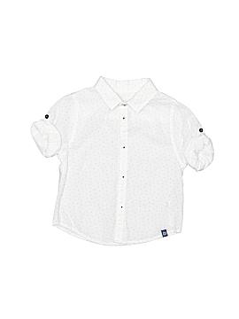 Zara Short Sleeve Button-Down Shirt Size 9-12 mo