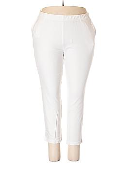 Roaman's Casual Pants Size 18 Petite (L) (Plus)