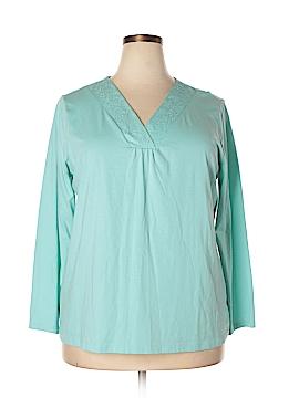 St. John's Bay Long Sleeve Top Size 2X (Plus)