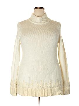 Sleeping On Snow Turtleneck Sweater Size L