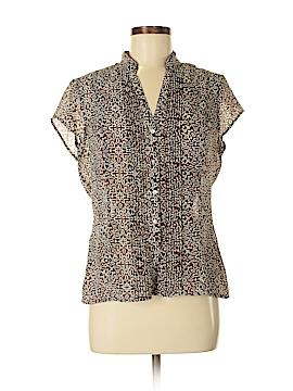 G.H. Bass & Co. Sleeveless Button-Down Shirt Size M
