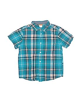 Gymboree Short Sleeve Button-Down Shirt Size S (Kids)