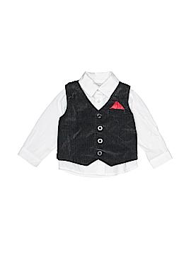 Koala Baby Boutique Tuxedo Vest Size 12 mo