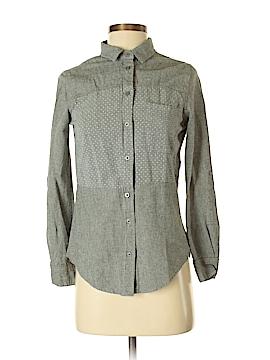 Velvet Heart Long Sleeve Button-Down Shirt Size XS