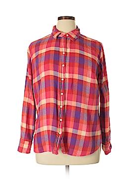 Merona Long Sleeve Button-Down Shirt Size 1