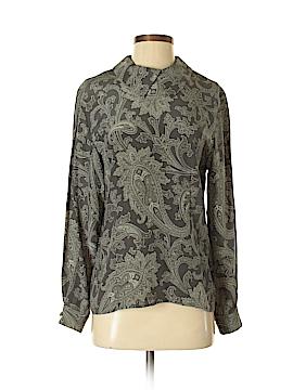 Jones New York Long Sleeve Silk Top Size 4