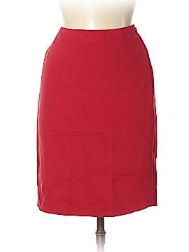 Kasper Silk Skirt Size 8 (Petite)