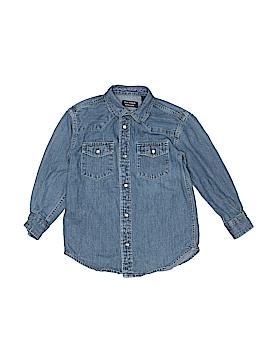 Classic Club Long Sleeve Button-Down Shirt Size 5
