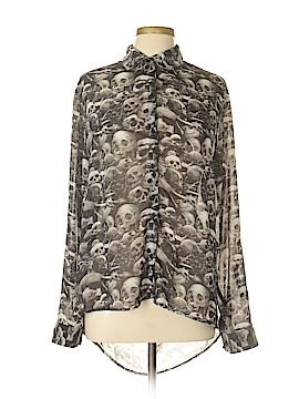 Teenage Runaway Long Sleeve Blouse Size XL