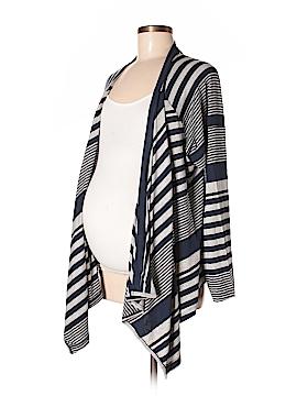 Everly Grey Cardigan Size Lg - XL Maternity (Maternity)