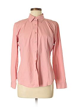 Chadwicks Long Sleeve Button-Down Shirt Size M
