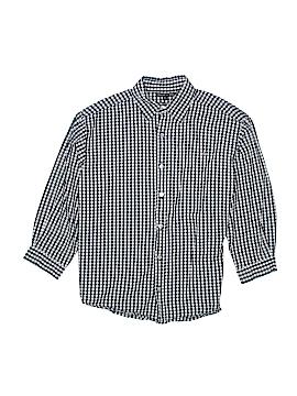 Marcel et Leon Long Sleeve Button-Down Shirt Size 12