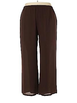 Wrap Silk Pants Size 2X (Plus)
