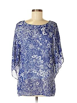 Dana Kay Short Sleeve Blouse Size 8