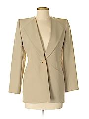 Giorgio Armani Women Wool Blazer Size 38 (IT)
