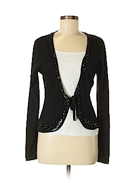 Rene Lezard Silk Cardigan Size M