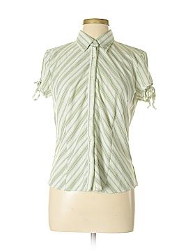 B. Moss Short Sleeve Button-Down Shirt Size XL