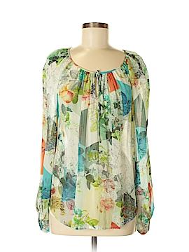 Leifsdottir Long Sleeve Silk Top Size 6 (Petite)